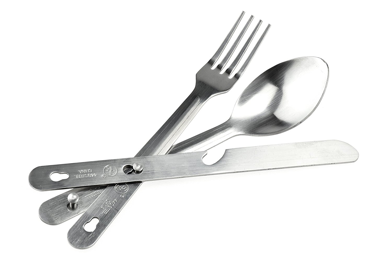 SE Stainless Steel Utensil Set (With Bottle Opener)