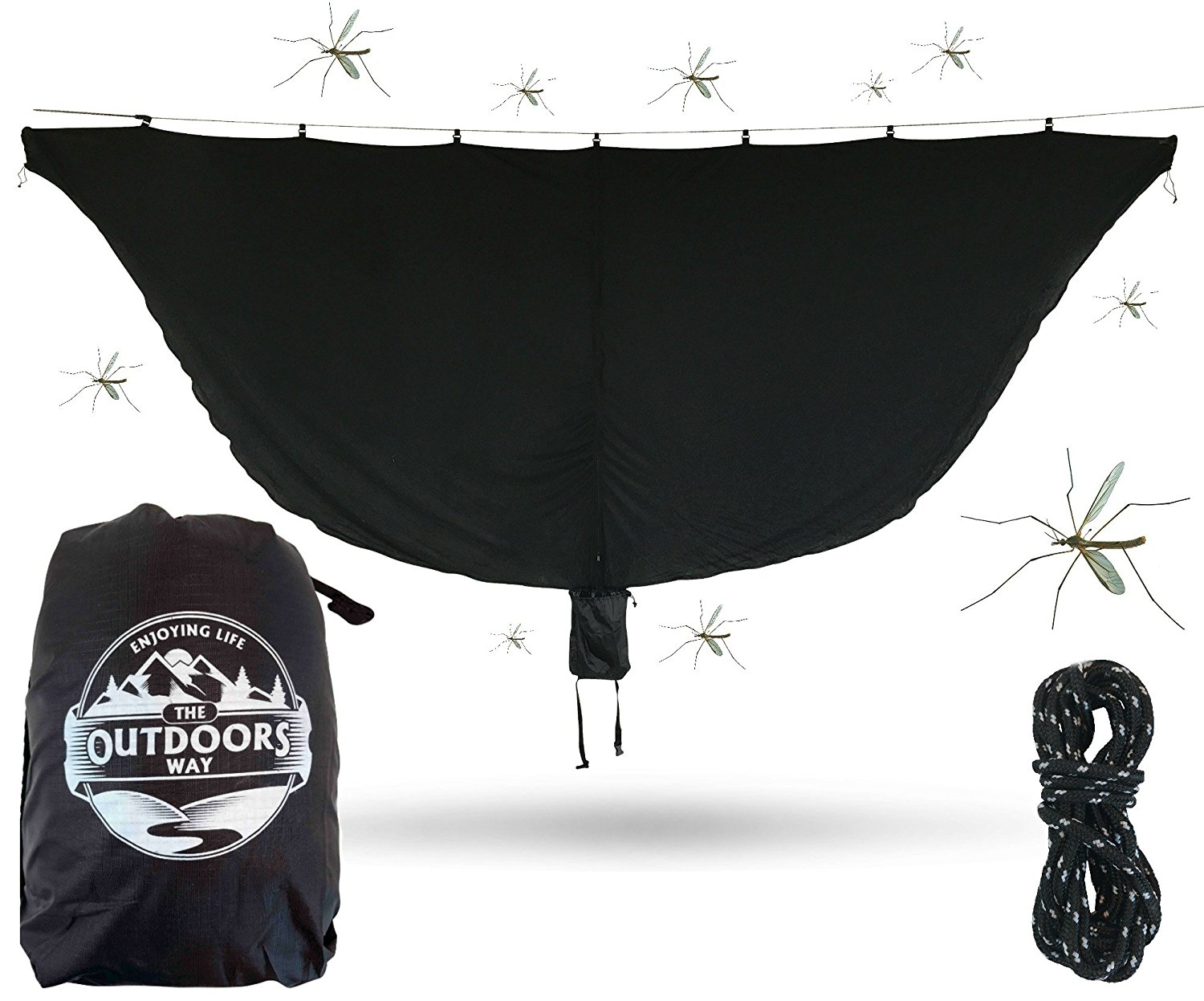 Hammock Mosquito Net From The Outdoors Way