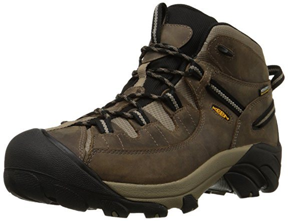 KEEN Mens Targhee II Mid Waterproof Hiking boot