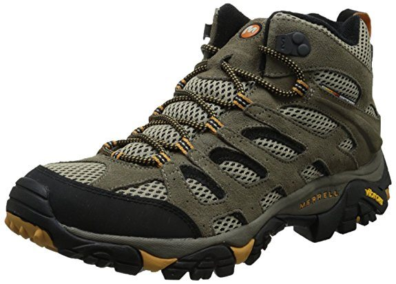 Merrell Mens Moab Ventilator Mid Hiking Boot