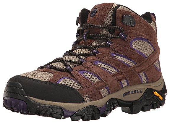 Merrell Womens Moab 2 Vent Mid Hiking Boot