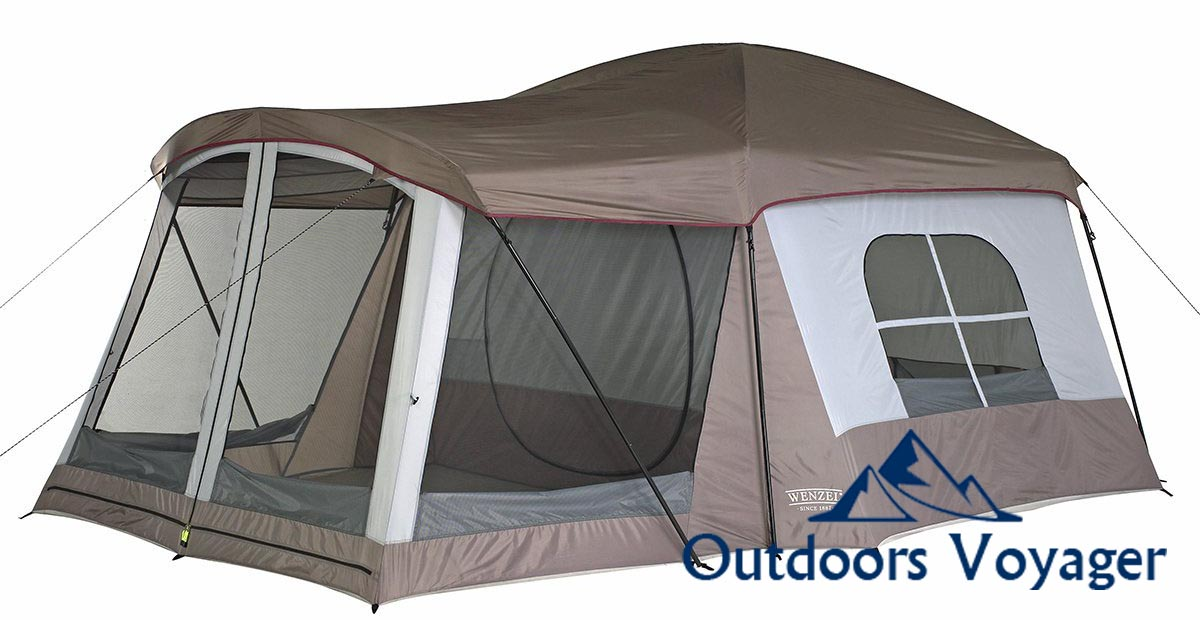 Wenzel Klondike 8 Person Family Tent Review