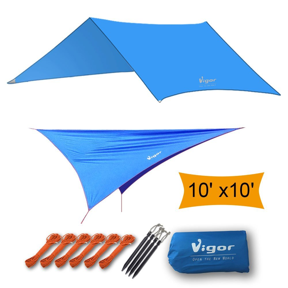 Vigor waterproof tarp footprint