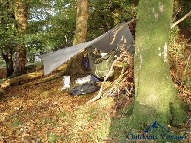 tips for sustainable hammock camping