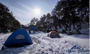How to stay warm in tent
